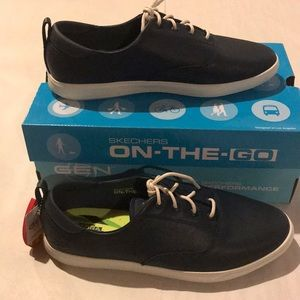 Sketchers On the Good Vulc 2 Snazzy Navy